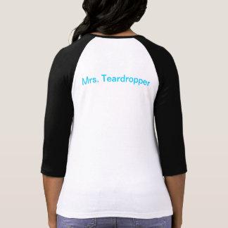 Teardrop Trailer Women's 3/4 (Mrs.) Tshirt