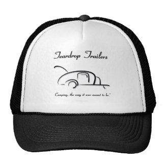 Teardrop Trailers Black Version Trucker Hat