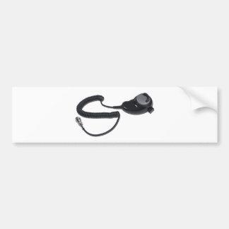 TeardropMicrophoneCable020511 Pegatina Para Auto