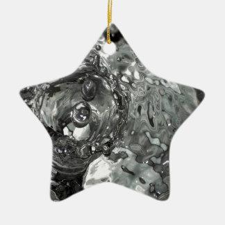teardrops clock.jpg ceramic ornament
