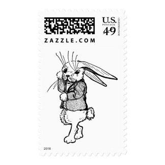Tearful Rabbit Stamp