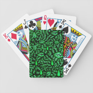 Tearful Trees in Green Playing Cards