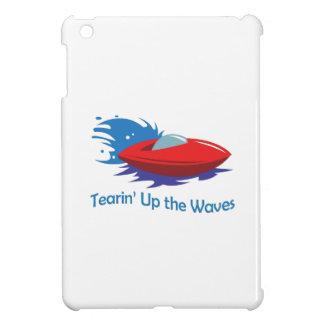 TEARIN UP THE WAVES iPad MINI COVERS