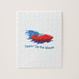 TEARIN UP THE WAVES JIGSAW PUZZLE