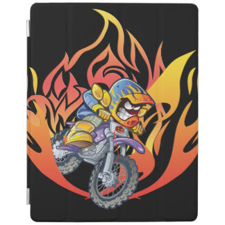 Tearing it up on the track iPad smart cover