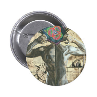 Tearing the Illusions Pinback Button