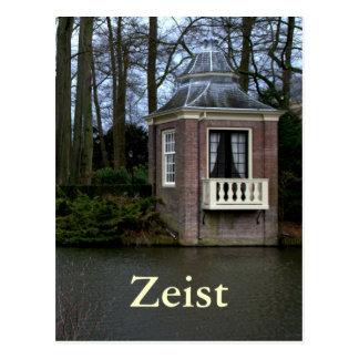 Tearoom, castillo de Zeist Tarjeta Postal