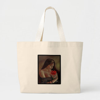 Tears, Blood, Diamonds Large Tote Bag