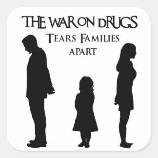 Tears Famlies Apart Square Sticker