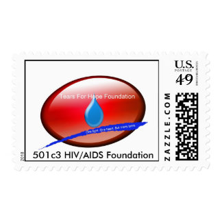 Tears For Hope  Foundation Postage