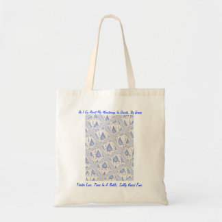 """Tears In A Bottle"" Tote Budget Tote Bag"