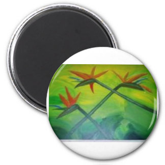Tears in Paradise 2 Inch Round Magnet