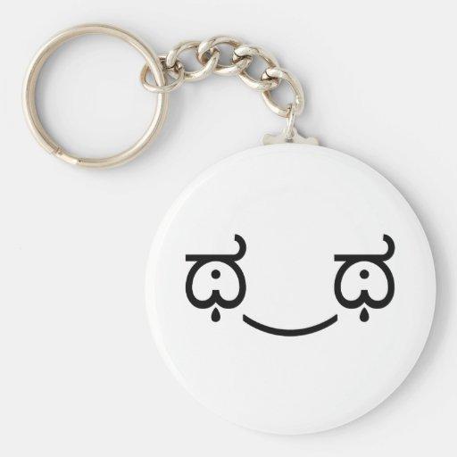 Tears of Joy Basic Round Button Keychain