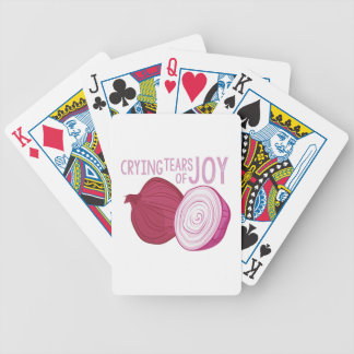 Tears Of Joy Bicycle Playing Cards