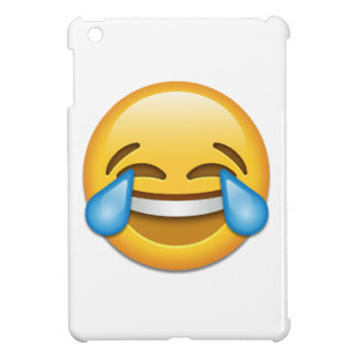 Tears of Joy emoji funny iPad Mini Case