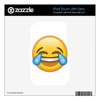Tears of Joy emoji funny iPod Touch 4G Decal