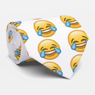 Tears of Joy emoji funny tie