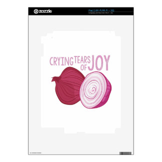 Tears Of Joy iPad 2 Decal