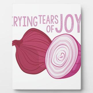 Tears Of Joy Plaque