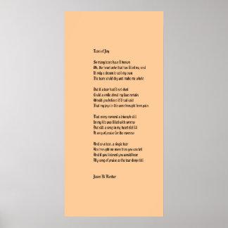 Tears Of Joy Poster
