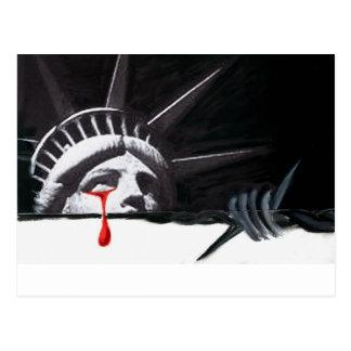 Tears of Liberty Postcard