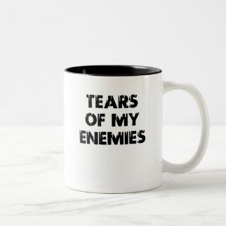 Tears of my enemies - 01 Two-Tone coffee mug