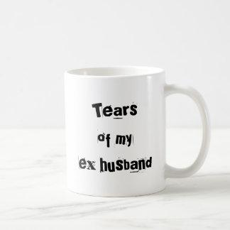 """Tears Of My Ex Husband"" Mug"