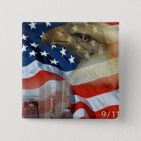 Tears of the Eagle Pinback Button