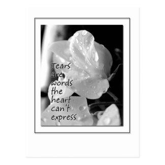 Tears Postcard