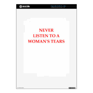 TEARS SKINS FOR THE iPad 2