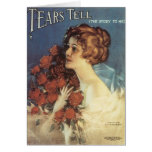 Tears Tell The Story To Me Songbook Cover Card