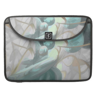 Teary Dreams Pastel Abstract MacBook Pro Sleeves
