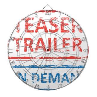 Teaser Trailer On Demand Stamp Dartboard