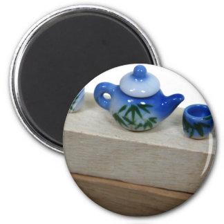 TeaSet041209 2 Inch Round Magnet