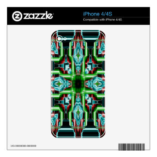 Teasing Teal No 2 Skins For The iPhone 4