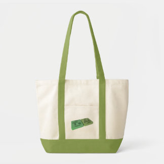 Teat as Te Tellurium and At Astatine Canvas Bags