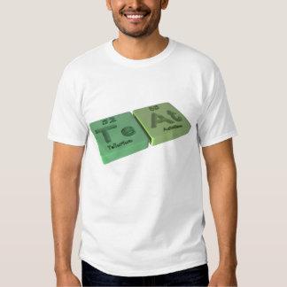 Teat as Te Tellurium and At Astatine Tee Shirt