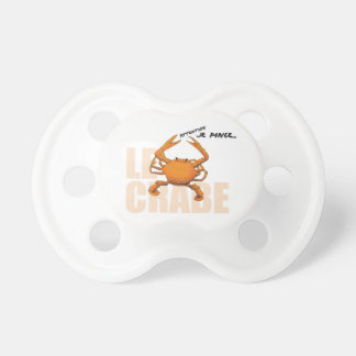 Teat Baby Crab BooginHead Pacifier