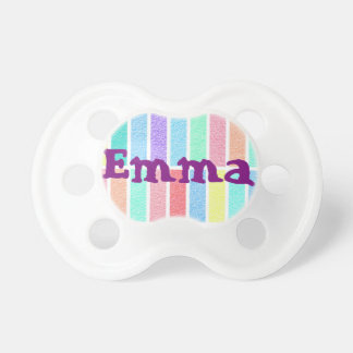 teat baby Emma first name Pacifier