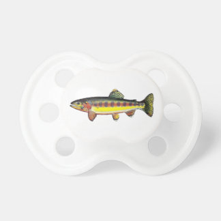 "Teat ""Trout Golden delicious "" Baby Pacifier"