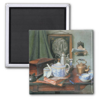 Teatime 2 Inch Square Magnet
