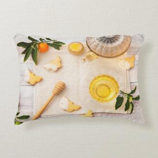 Teatime Accent Pillow