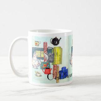 teatime-mug Mug C'est l'heure du thé à Paris