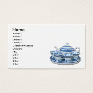 TeaTime, Name, Address 1, Address 2, Contact 1,... Business Card