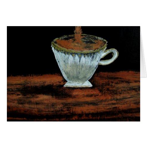 Teatime Tarjeta De Felicitación