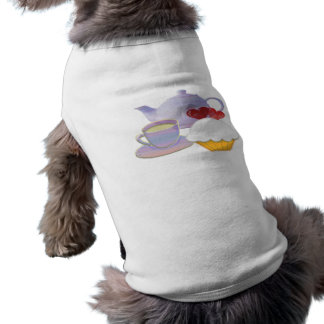 Teatime with Cupcakes heart Pet Clothing