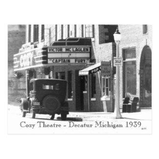 Teatro acogedor postal