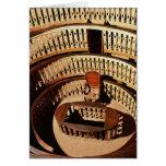Teatro anatómico, construido 1594-95 tarjeta de felicitación