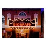 Teatro de Biograph Tarjetón