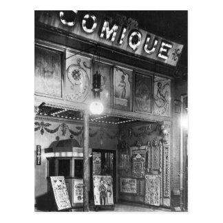 Teatro de Comique Tarjetas Postales